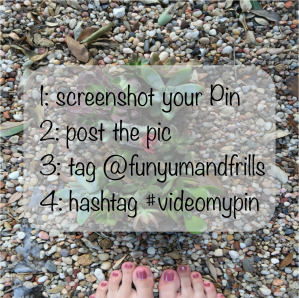 Video My Pin Instructions - get a free video tutorial of your Pin! - funyumandfrills.com